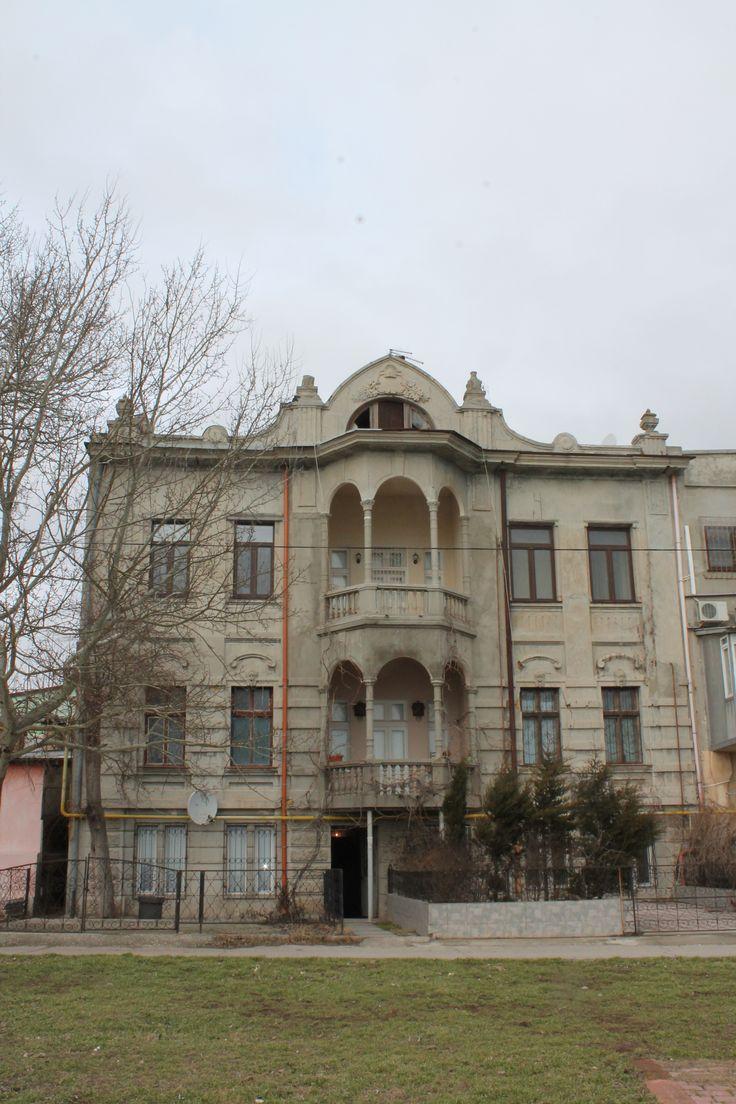 Крым Евпатория  31.01.2016 старый город