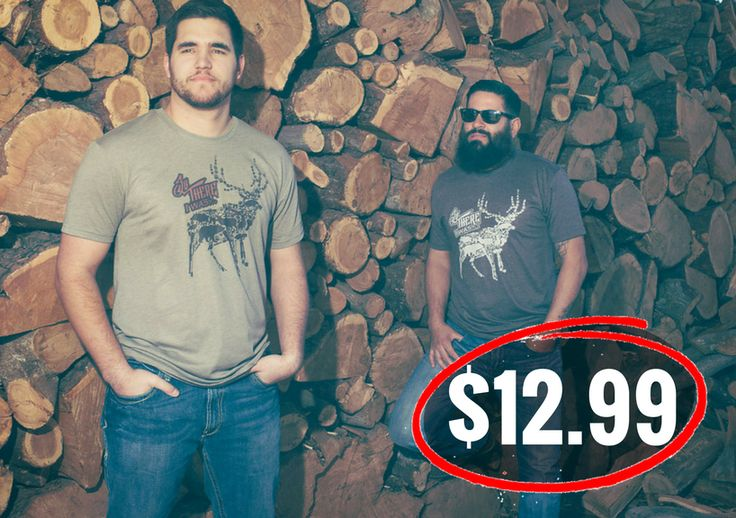 """Hunting Breacher T-Shirt for only $12.99!  """"Loved the shirt and it was delivered quickly! Great products from a great company! Giving to my love on his birthday in a couple weeks"""" #VeteranOwned #VeteranOperated #BottleBreacher #BreacherUp #MadeintheUSA #bottleopener #christmas #gift #stockingstuffers #crazygooddeals #hustle #shopnow #sharktank"""