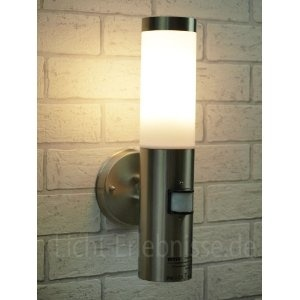 22 best lights images on pinterest applique sconces and wall lights stainless steel outdoor garden wall light with 120 degree motion sensor ip44 bt1003up pir aloadofball Choice Image