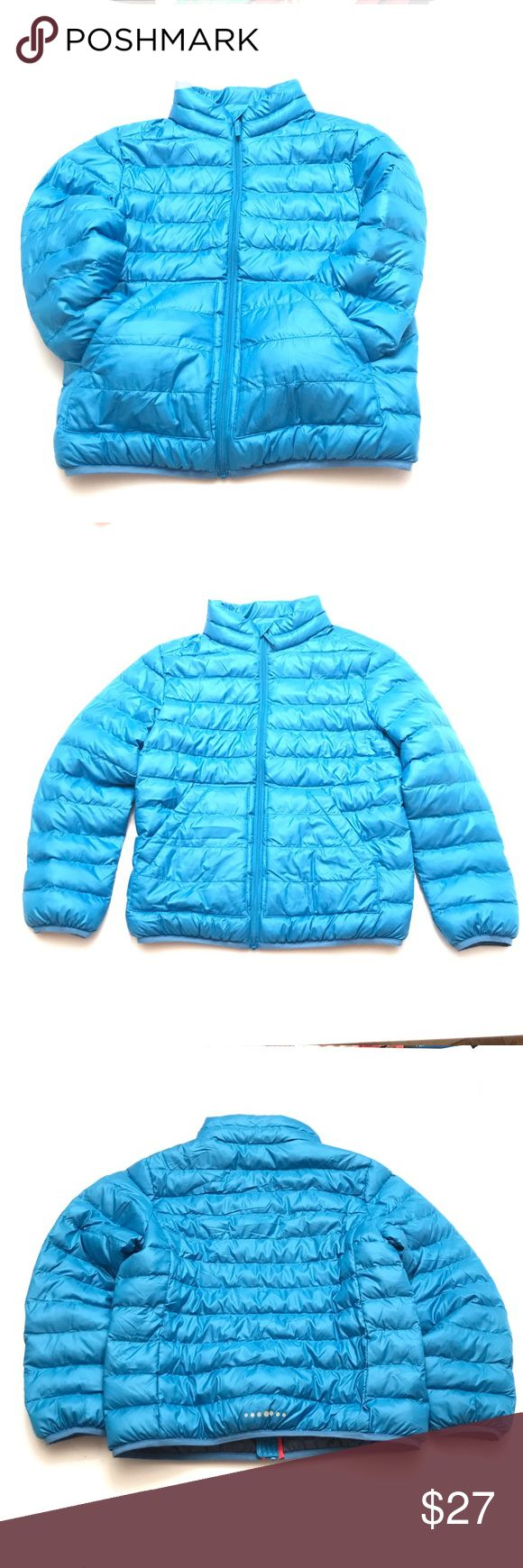 Uniqlo Blue Puffer jacket Blue puffer jacket, Puffer