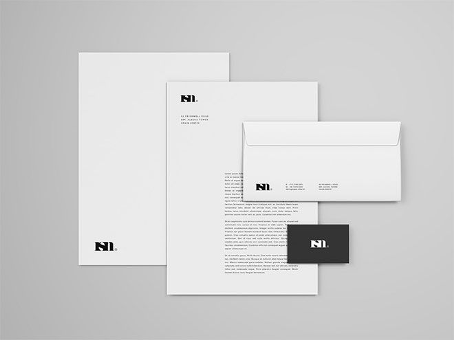 Simple Stationery Mockup Template Stationery Mockup Free Stationery Mockup Mockup Template