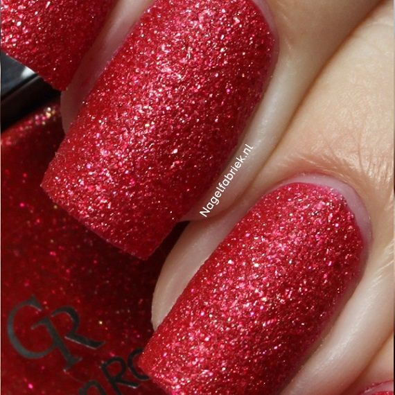56 Golden Rose Holiday Swatch - Nagelfabriek