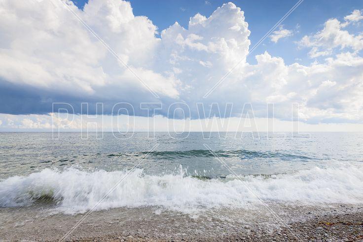 White Waves - Fototapeter & Tapeter - Photowall