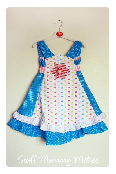 Stuff Mummy makes: Farbenmix Feliz Dress! Just love her colorchoice