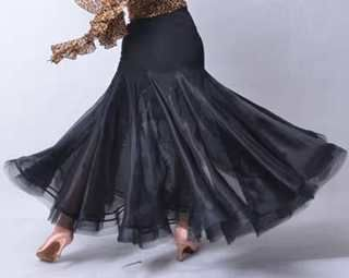 >> Click to Buy <<  dance ballroom dance modern dance exaggerated double pendulum with broadside fishbone two skirt modern dress S12060 #Affiliate