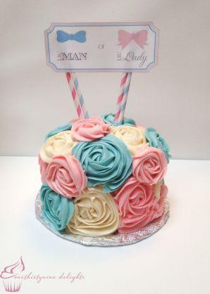 性別お披露目ケーキ♡
