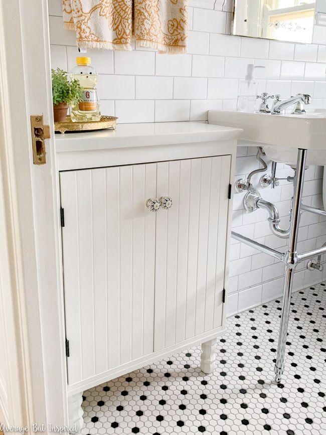 ikea bathroom vanity hack ikea silveran for a shallow on ikea bathroom vanities id=48312