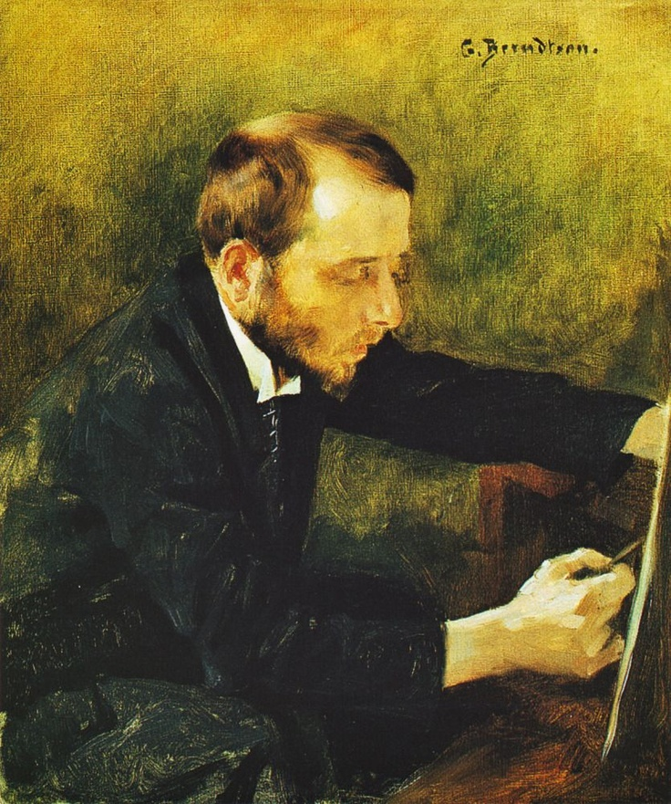 GUNNAR BERNDTSON Eero Jarnefelt (1892)
