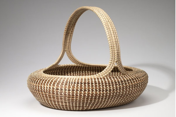 Elizabeth Mazyck | Egg Basket.   Sweetgrass.