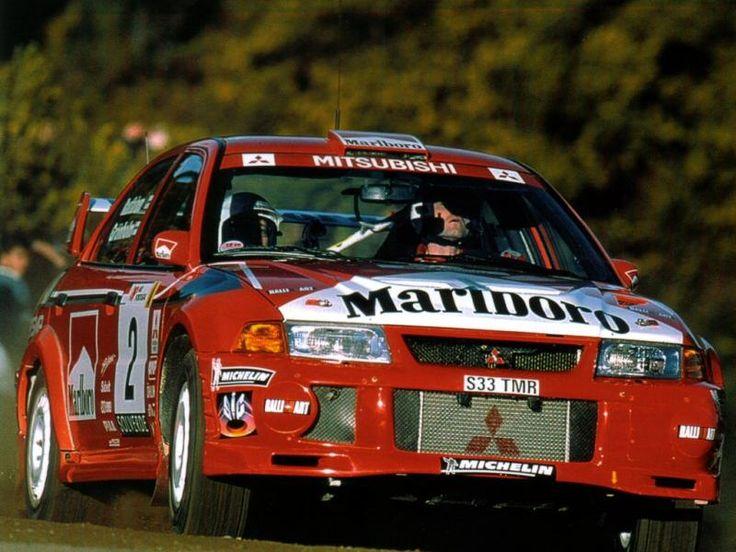 1999 Mitsubishi Carisma GT Evo 6-Marcus Grönholm-Timo Rautiainen-Abandon