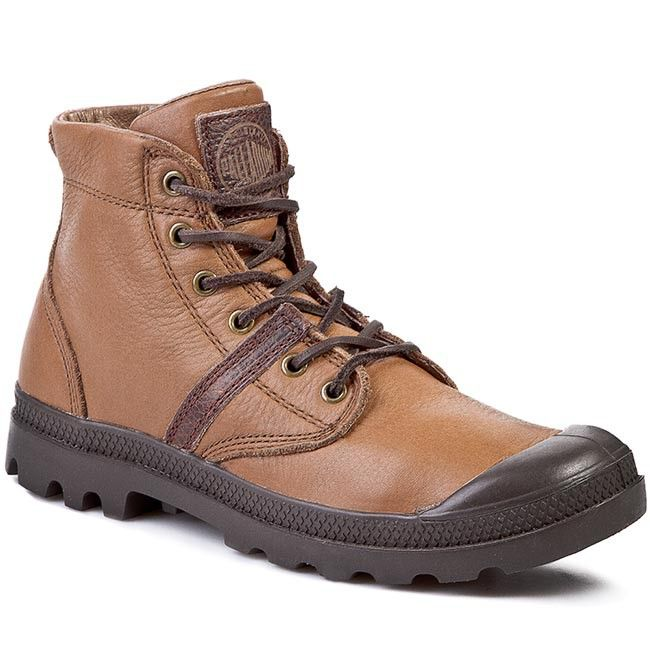 Trappers PALLADIUM - Pallabrouse Leather 02452284 Tan