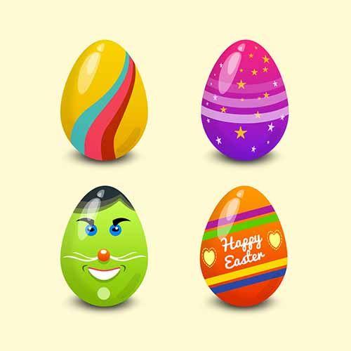 Пасхальные яйца Psd