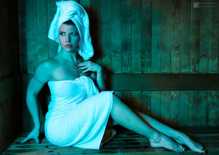 Hot Sauna - I did a shoot recently with the lovely Leah