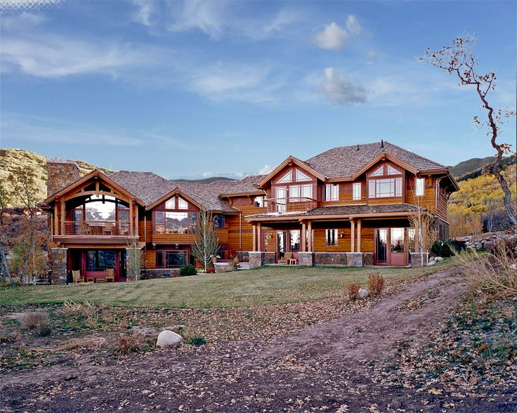 Cabin colorado mountain home designed home ideas for Colorado mountain house