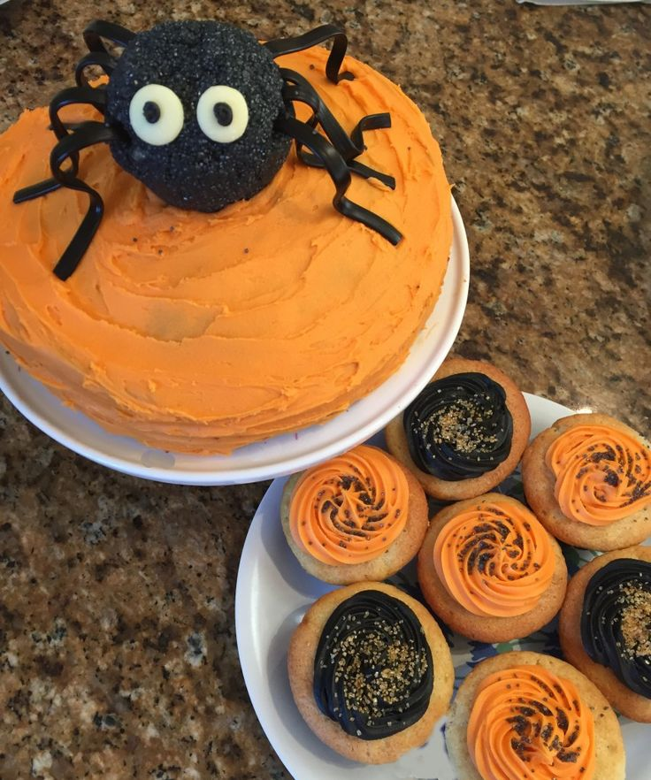 Bake Your Own Scrumptious Spider Cake This Halloween Using