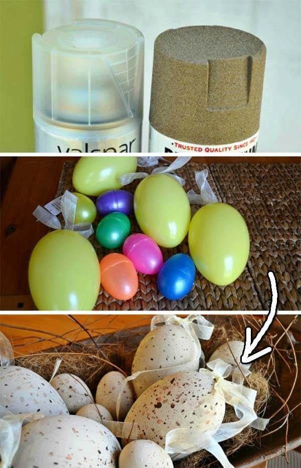 Ein Nest von Vogeleier für Ihren Garten – #Ostern2019 #OsternIdeen – #Ostern201…