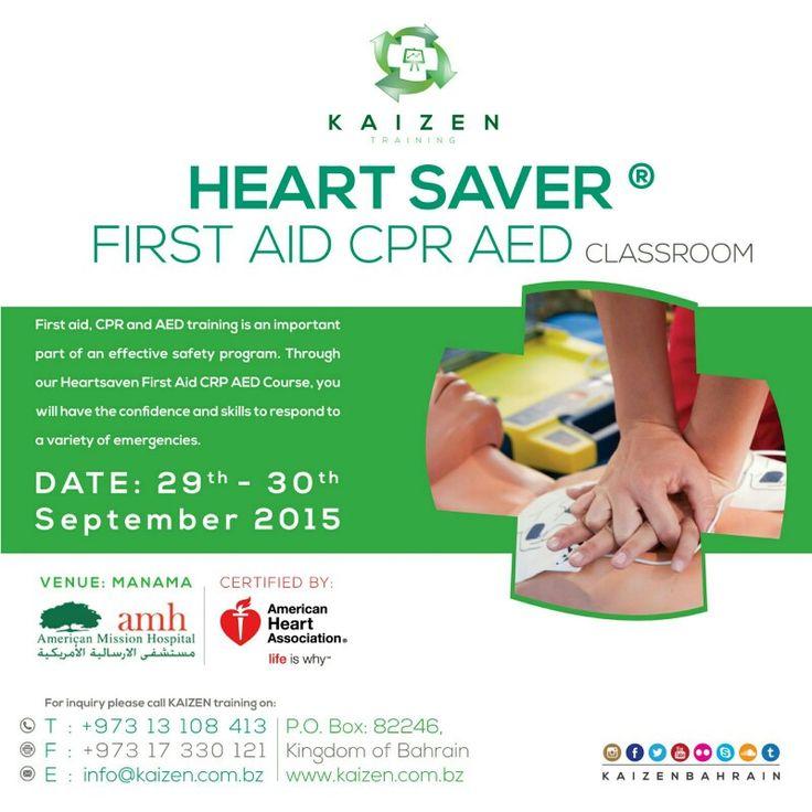 Kaizen Medical Management organizing First Aid Course Heartsaver 5 hours ( CME )  Www.kaizen.com.bz