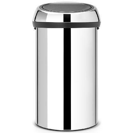 Brabantia 60 Litre Kitchen Touch Bin in A large Brabantia 60 L kitchen touch bin with an easy and light touch operation and soft touch closure. Features an extra-large opening for preventing spills, a sturdy carry handle that allows the bin http://www.MightGet.com/february-2017-2/brabantia-60-litre-kitchen-touch-bin-in.asp