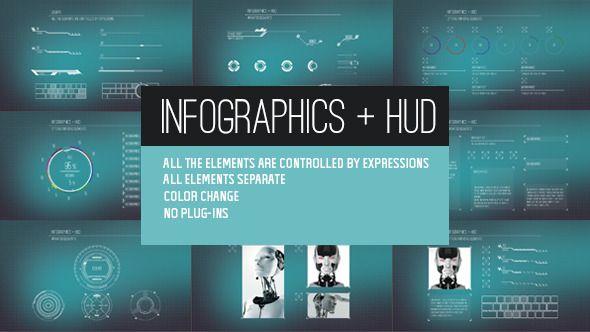 Infographics + HUD
