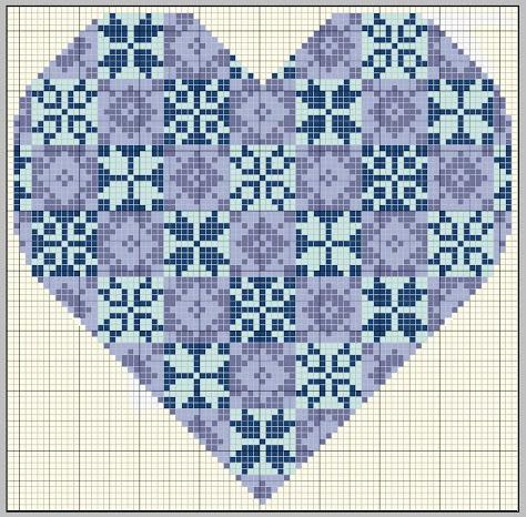 Quaker Quilt Heart