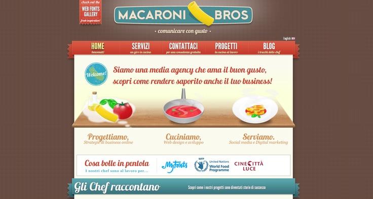 Macaroni Bros, eye-candy design