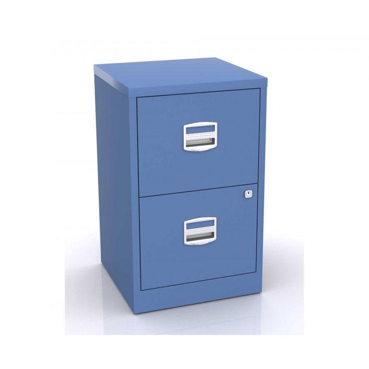 Luxury Bisley 2 Drawer Filing Cabinet