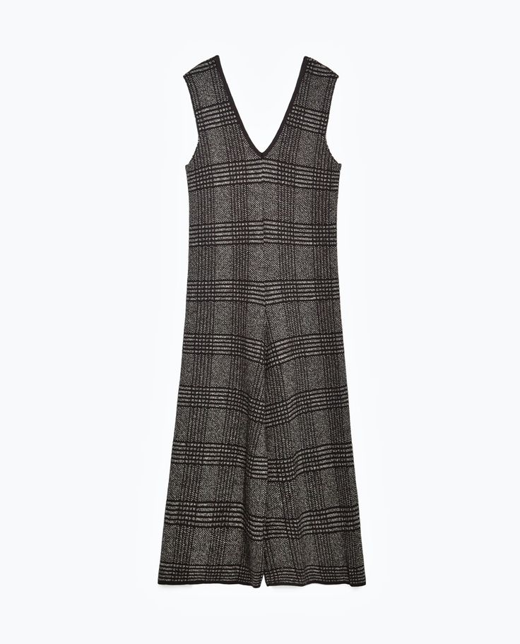 Image 11 of CHECK JUMPSUIT from Zara