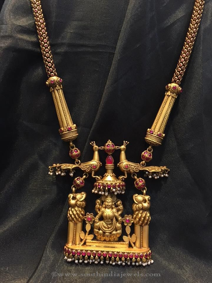 Laxmi pendant temple jewellery