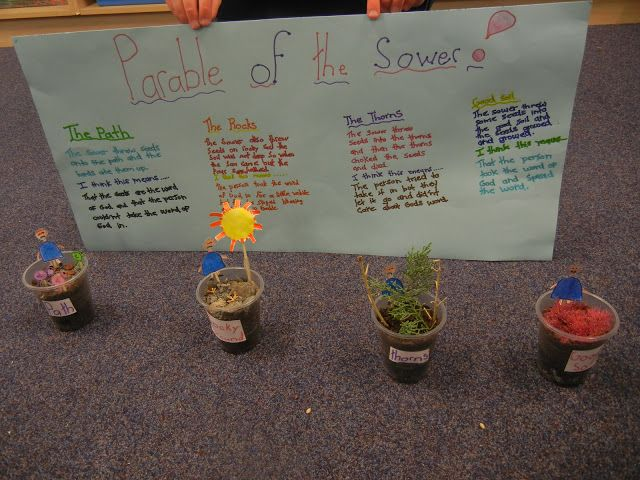 25 best images about parable of the sower on pinterest
