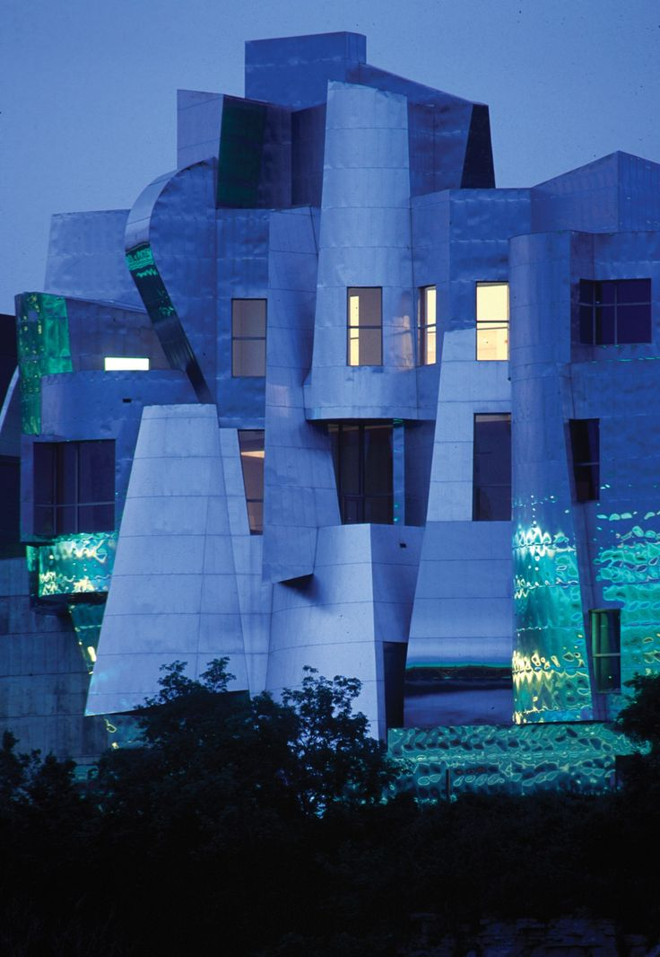 Weisman Art Museum, Minneapolis, by Frank Gehry - 1993