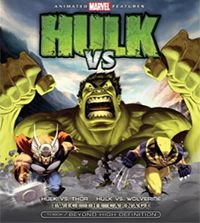 Hulk Vs is a 2009 direct-to-video animated release from Marvel Animation and Lionsgate, featuring the Incredible Hulk in two short films; Hulk Vs Wolverine and Hulk Vs Thor.: Marvel Animal, Marvel Movie, Bluray, Comic Books, Marvel Comic, Wolverines Fans, Incredible Hulk, Incr Hulk, Animal Movie