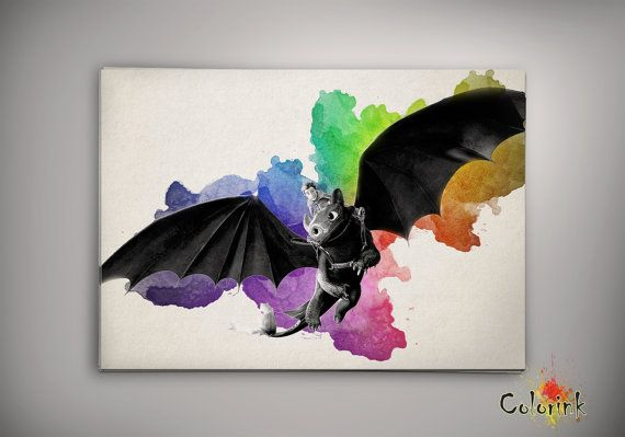 how to train your dragon room decor