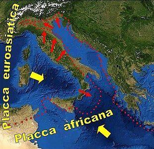 Tettonica delle placche - Wikipedia