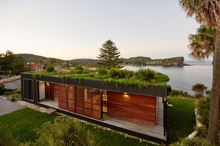 With a construction time of just 6 weeks, ArchiBlox were able to create this two bedroom prefab home in Australia.