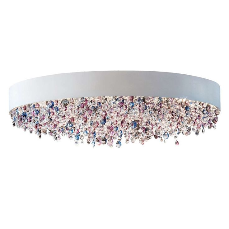 Ola PL6 OV Semi-Flush Mount Ceiling Light