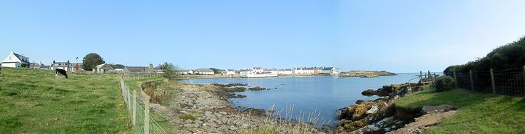 Isle of Whithorn in Dumfries and Galloway