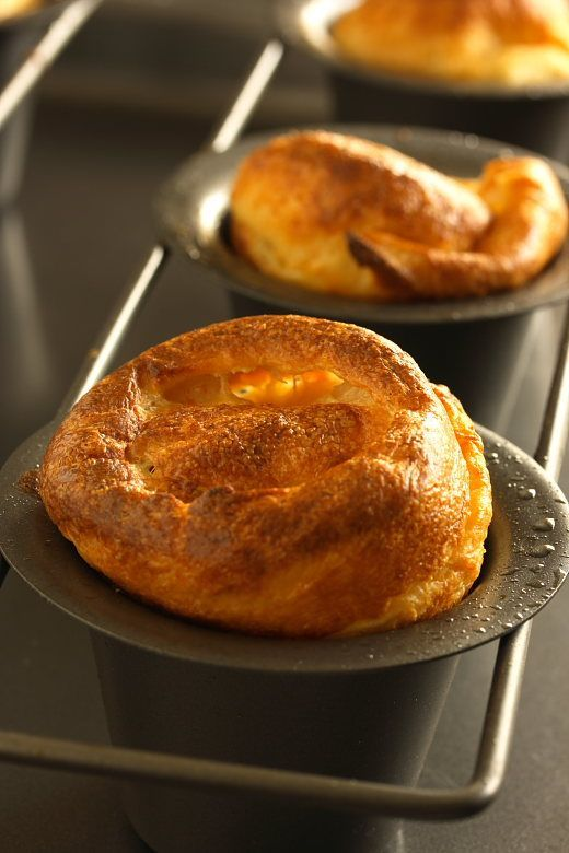 Yorkshire Pudding  2Cups all purpose flour 1 tsp salt Add 6 eggs a room temp 21/2 cups milk (very cold) 1/4 cup beef fat heated in pan @ 425 till smoky Pour into hot fat  Bake 20 min 325