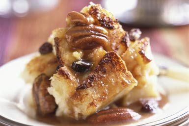 Warm bread pudding - StockFood - Alison Miksch/Riser/Getty Images