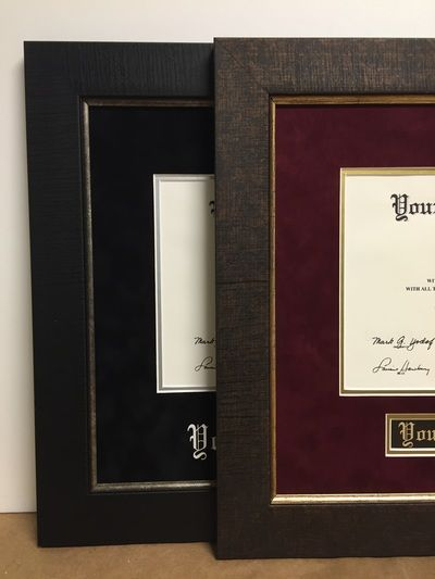 We now offer a Diploma Frame Special! Check out the site for more info :)
