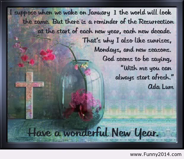 Happy New Year Religious Quotes: Have A Wonderful New Year Quote 2014