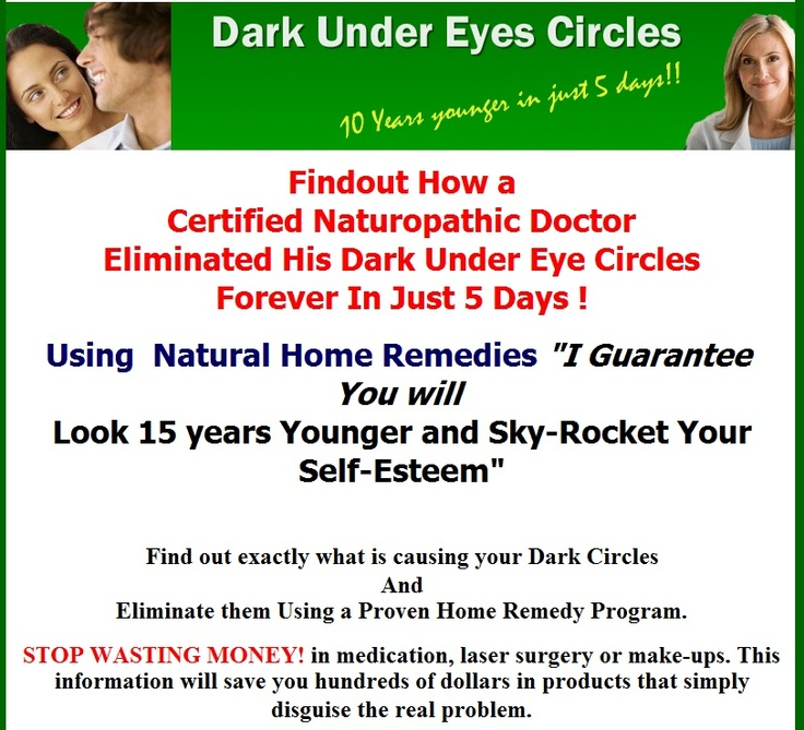 """How To Remove Dark Eye Circles"", Dr. Charles Silverman's"