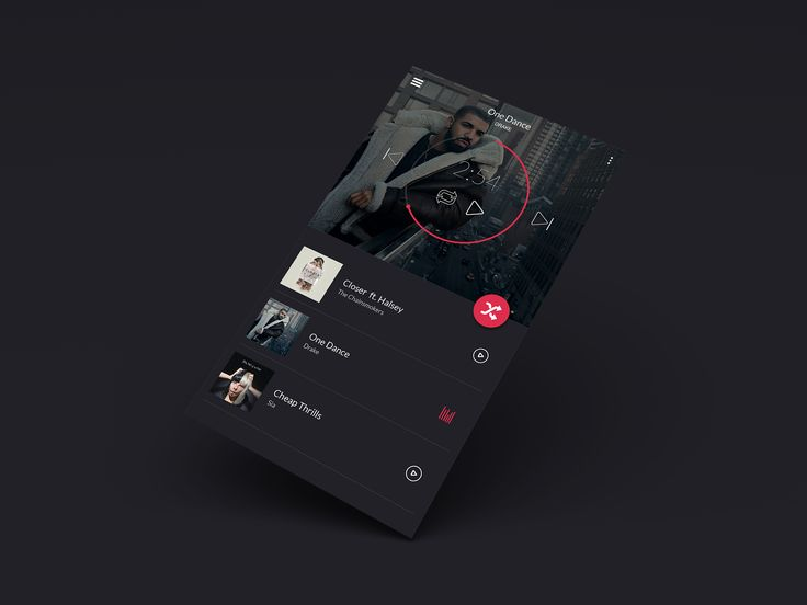Music Player App Idea.
