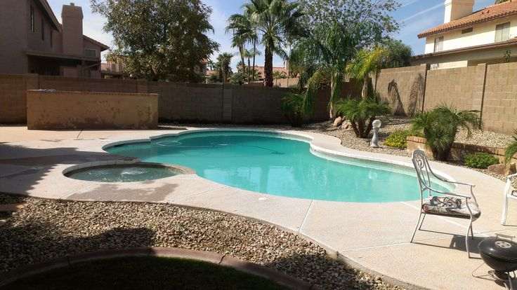 27 best Pool Landscaping on a Budget  Homesthetics images ... on Pool Patio Ideas On A Budget id=17287