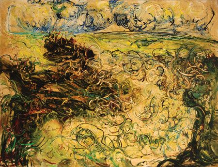 Tanah Lot, 1973, Affandi