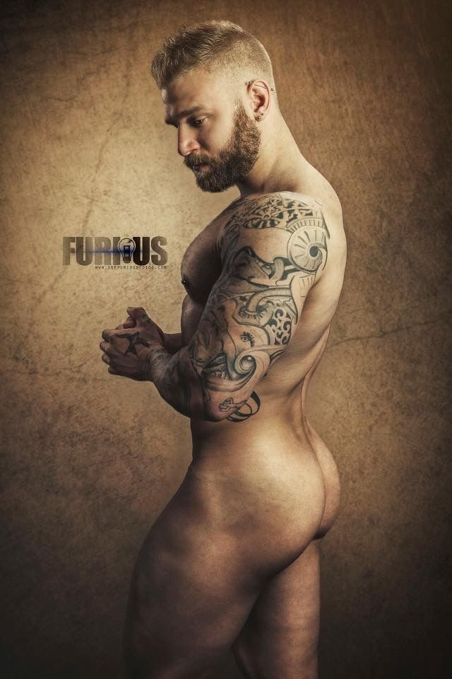 Tattoos of nude male charming