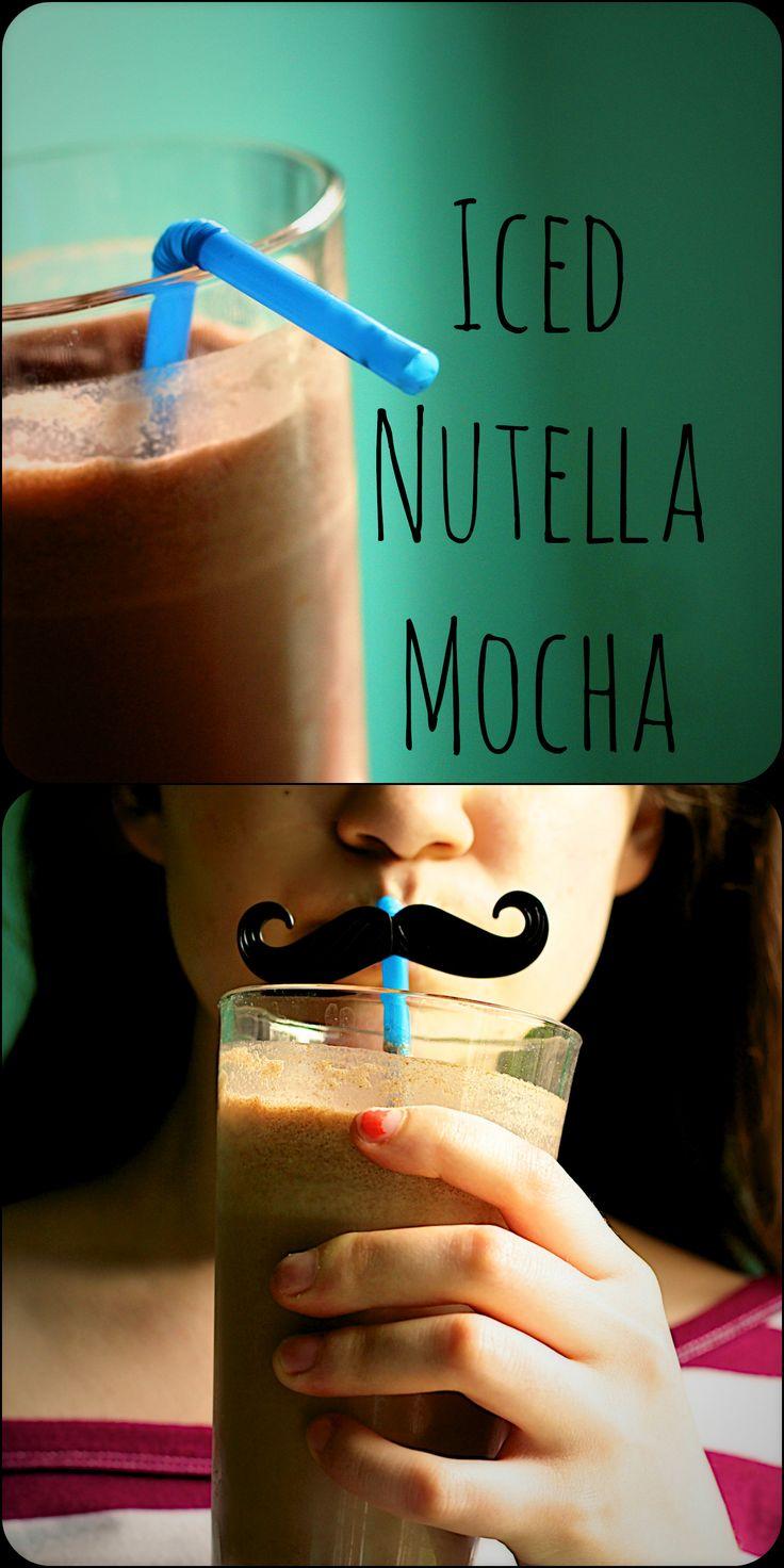 Iced Nutella Mocha Recipe