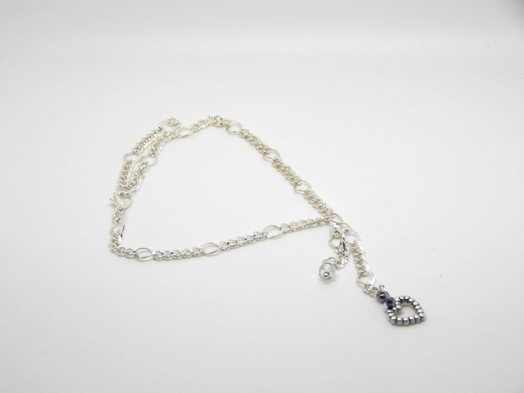 Heart charm anklet $5.95 AUD