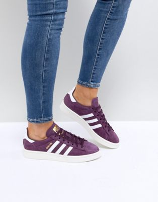 super popular 30cb7 d599f adidas Originals Campus Sneakers In Purple