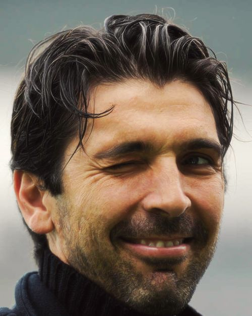 """Gianluigi """"Gigi"""" Buffon is an Italian professional footballer who plays as a goalkeeper. He captains both Serie A club Juventus and the Italy national team. Born: 28 January 1978 (age 39), Carrara, Italy Height: 1.91 m Spouse: Alena Šeredová (m. 2011–2014) Partner: Ilaria D'Amico (2014–) Current teams: Juventus F.C. (#1 / Goalkeeper), Italy national football team (#1 / Goalkeeper) Did you know: Gianluigi Buffon ranks second among Juventus F.C. players by a total number of appearances (629)."""