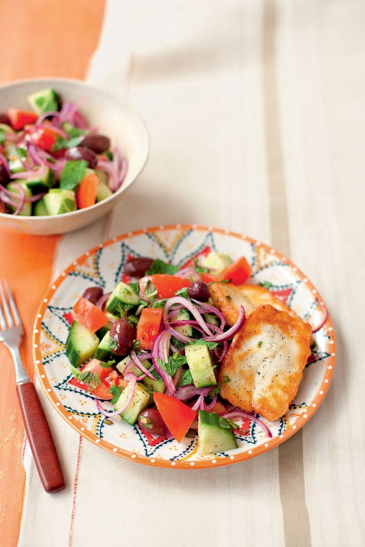 This Greek salad recipe from Silvana Franco is bound to be a hit whether you're a veggie or not.